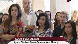 Ana Moura, Paulo Gonzo e Amor Electro atuam no Sushi Fest em Oeiras