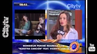 Citytv: Monsieur Periné regresa con 'Nuestra Canción' feat. Vicente García