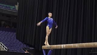 Leanne Wong (USA) - Balance Beam - 2019 American Cup