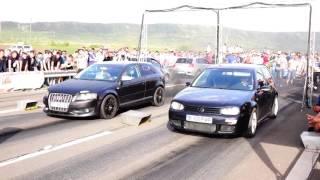 VW GOLF 4 1.9TDI 300HP vs AUDI A3 1.9TDI