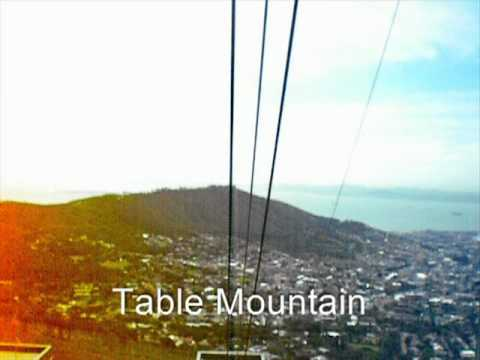 Cape Town. Table Mountain Aerial Cableway. South Africa