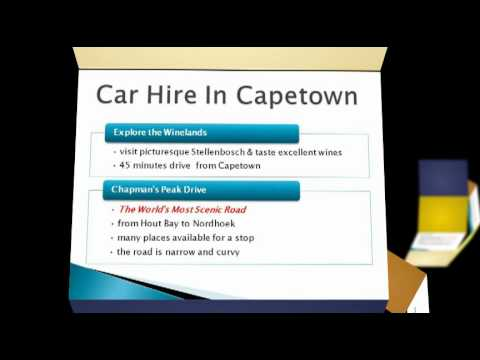 Car Hire In Capetown – 3 Must Do Things While In Cape Town
