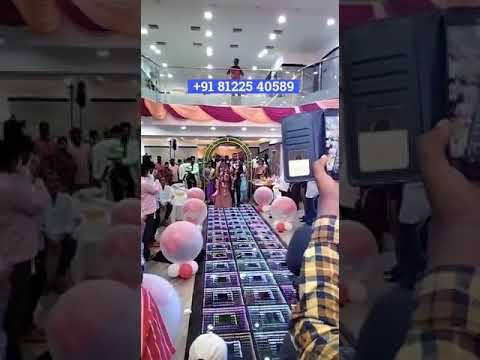 Bride Groom Entry Concept Balloon Blast +91 81225 40589 Chennai | Andhra | Tamil Nadu