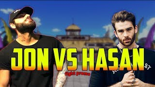 Jon Zherka vs Hasan Piker - The Final Battle