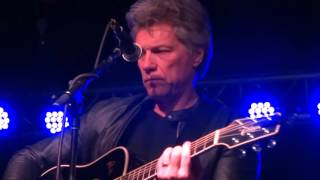 Jon Bon Jovi It's My Life 3/19 Nashville