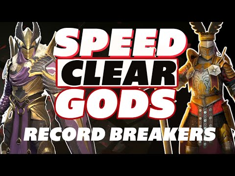 Ithos Septimus speed clear gods record holders Raid Shadow Legends Ithos guide Septimus guide