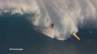 kite surfer heaviest wipe out ever at jaws