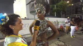 Cobertura Carnaval 2017: Entrevista Mayara Lima Musa Paraíso do Tuiuti