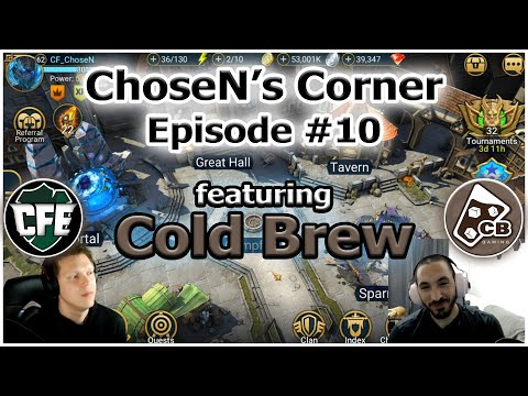 ChoseN's Corner #10 | Cold Brew
