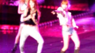 110726 蔚山Summer Festival Music Core After School Red 飯拍