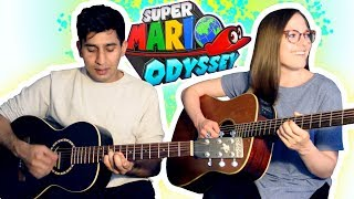 Super Mario Odyssey - Jump Up, Super Star! / 1-Up Girl (Acoustic Cover)