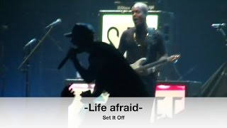Set It Off au centre vidéotron, le 13 mars 2017-Life afraid-