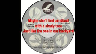 Henry Gross - Shannon with Lyrics