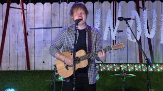 Ed Sheeran - All Of The Stars (Live at TFIOS Premiere)