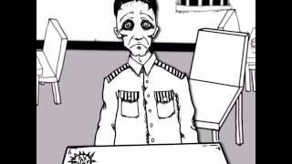 三门四侠手绘内涵漫画系列-《监狱风云》#手绘 #漫画 #三门四侠 #内涵 #动画