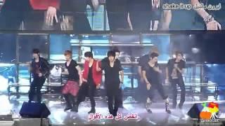 [HD] super junior shake it up (arab sub + lyrics) ترجمة عربي