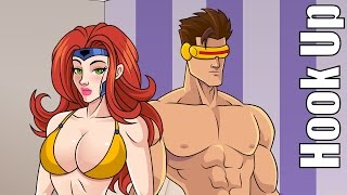 Cartoon Hook-Ups: Cyclops and Jean Grey