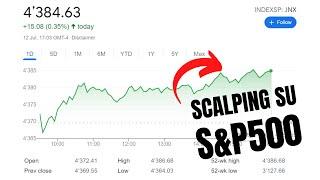 Scalping sull'S&P 500? Ecco 25 punti con un trade sull'indice USA