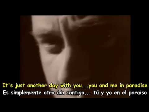 Another Day In Paradise En Espanol de Phil Collins Letra y Video