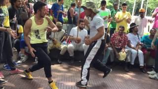 Roda na Praça da Republica Instrutor Borracha Capoeira Ache Pernambuco