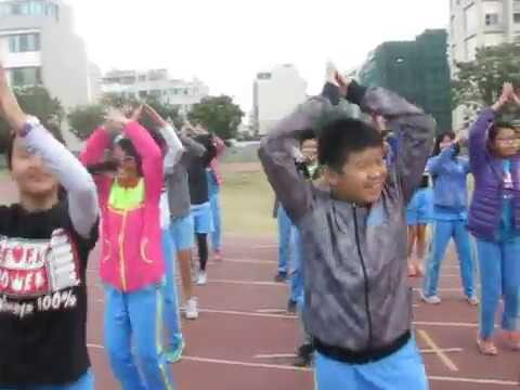 臺南市東區裕文國小1061205進場舞練習 - YouTube