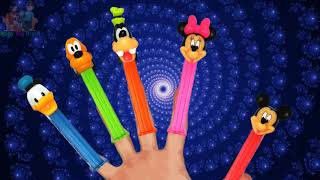 Mickey Mouse Clubhouse Pez Dispensers Finger Family Nursery Rhyme Song