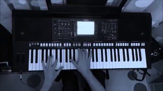 Mix techno YAMAHA PSR S750 - Dj Hazel, Bingo Players...