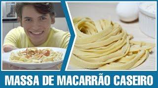 Como Fazer - Massa de Macarrão Caseiro #24