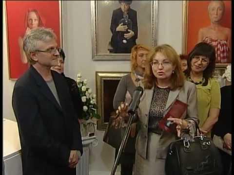 Oleg Radvan personal exhibition in Ukraine, Kiev- Part 1