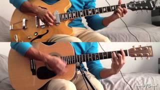 The Beatles - I Will karaoke / guitar cover