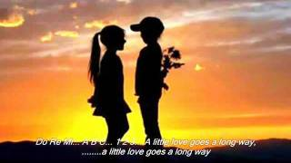 A Little Love Goes A Long Way with Lyrics   by: Donna Cruz, Regine Velasquez and Mikee Cojuanco