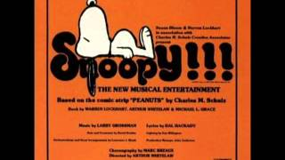 08 Where Did That Little Dog Go? - Snoopy: The Musical