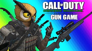 COD4 Remastered: Gun Game Funny Moments - The Irish Knife Duo!