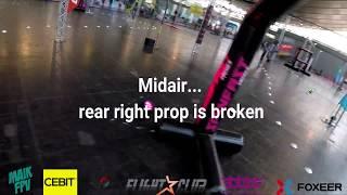 CeBit FPV Race 2018 | Elimination run + Midair + Burned Motor and ESC