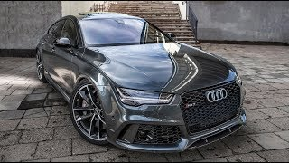 THE PERFECT CAR? The 2017/18 605hp AUDI RS7 PERFORMANCE (4.0,V8TT) - The best of the beast