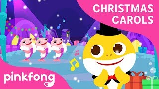 Happy Happy Shark Christmas   Christmas Carols   Baby Shark   Pinkfong Songs for Children