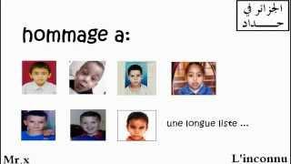 MISTER X _Unknown : (إختطاف الأطفال في الجزائر (الإعدام
