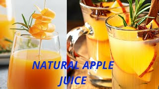 How to Make Natural Apple Juice with Moulinex juicer machine