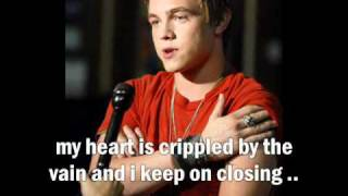 bleeding love jesse mccartney lyrics