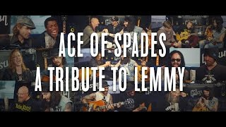 """Ace Of Spades"" - Tribute to Lemmy - ( Kiko from MEGADETH, HALESTORM...) @ Hellfest 2016"