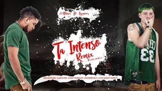 El Blopa - Ta Intenso REMIX ft Lary Over (Video Lyrics)