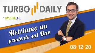 Turbo Daily 08.12.2020 - Mettiamo un pendente sul Dax