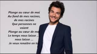 Amir Au coeur de moi Paroles /lyrics video/