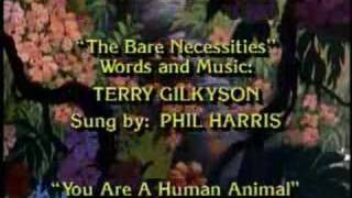 Bare Necessities End Credits