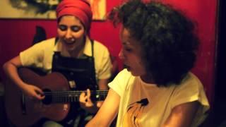 La Yegros Backstage with Sofia Viola