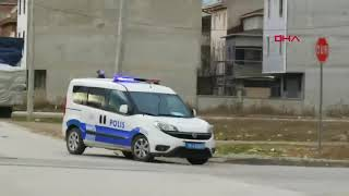 Kısıtlamayı ihlal eden çocukların polisten kaçtığı anlar kamerada