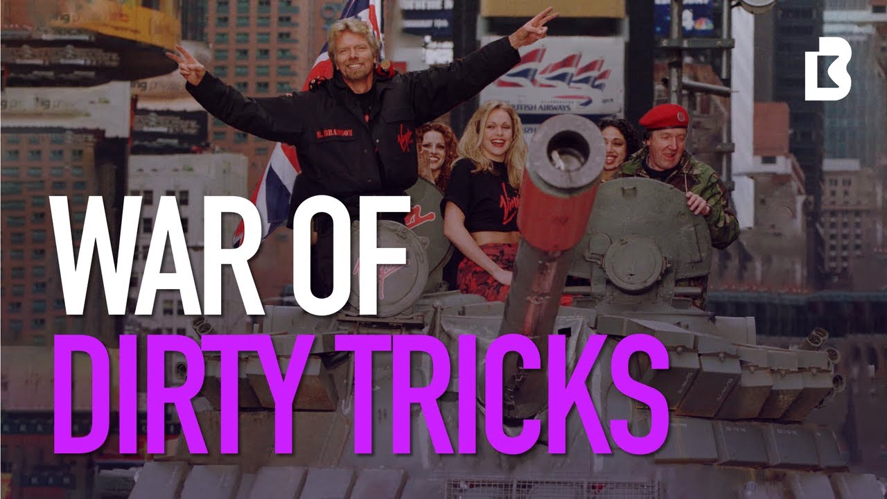 The War of Dirty Tricks: How Richard Branson Defeated British Airways