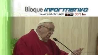 """Vídeo Noticia: Papa Francisco: """"Una pastilla para dormir no ayuda en la desolación espiritual"""""""