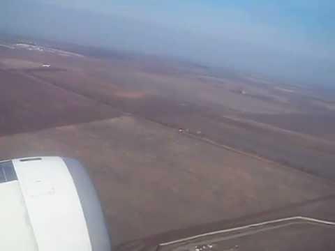 Turkish Airlines takeoff from Simferopol, Ukraine to Istanbul, Turkey November 2012