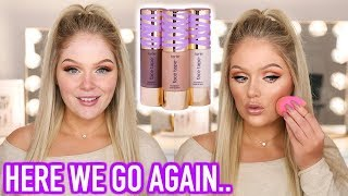 NEW TARTE FACE TAPE FOUNDATION   FIRST IMPRESSIONS + REVIEW